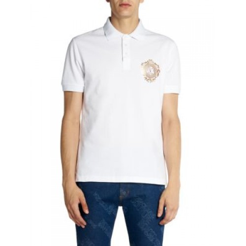 Versace Jeans Couture Chest Logo Polo T-Shirt 4XL - For Man's Clothing WEJT507